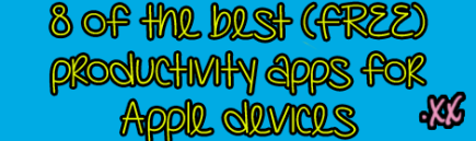 8-of-the-best-FREE-productivty-apps-for-apple-devices