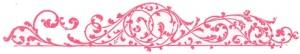 pink blog divider