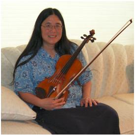 Rachelle Ayala violin