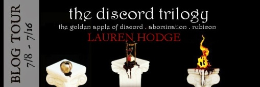 the discord trilogy lauren hodge book tour drunk on pop