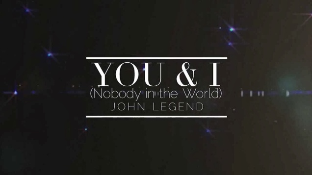 john legend you & i (nothing in the world) music video blog drunk on pop