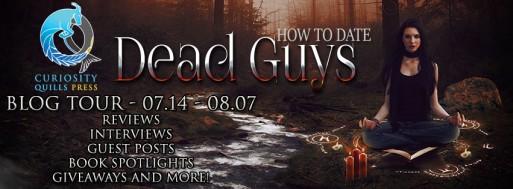 how to date dead guys ann m. noser book tour banner drunk on pop