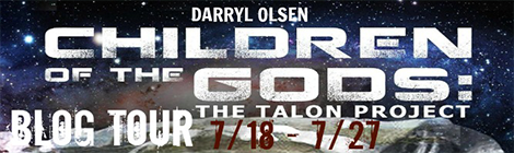 children of the gods the talon project darryl olsen blog tour drunk on pop