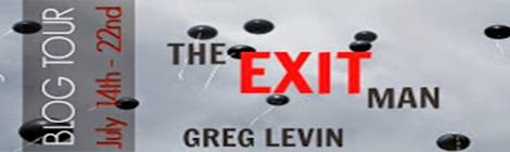 the exit man greg levin blog tour drunk on pop