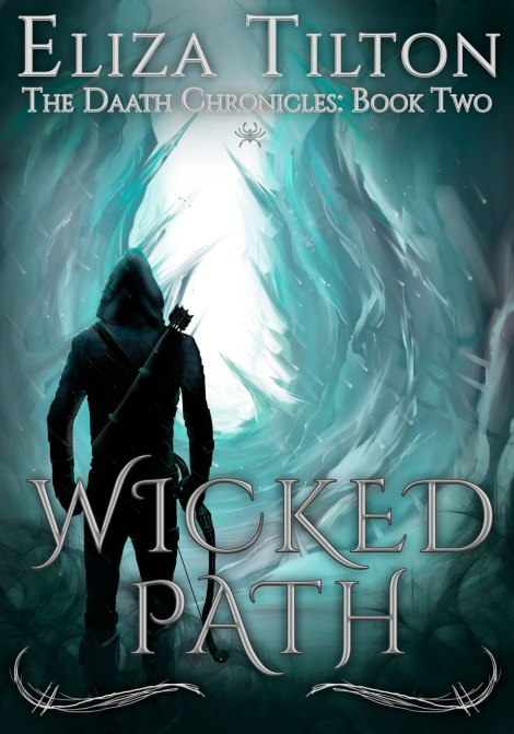 wicked path Daath Chronicles book 2 eliza tilton book cover