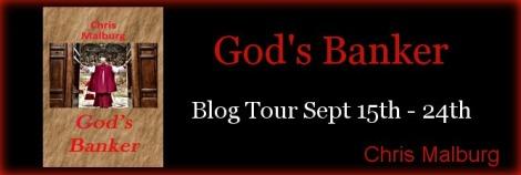 god's banker chris malburg blog tour guest post drunk on pop