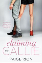 claiming callie part two paige rion book cover