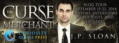 the curse merchant jp sloan curiosity quills press book tour drunk on pop
