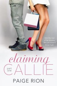 claiming callie part one paige rion book cover