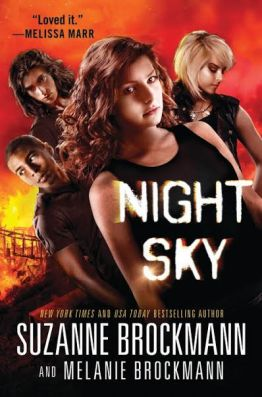 night sky suzanne brockmann melanie brockmann young adult book cover