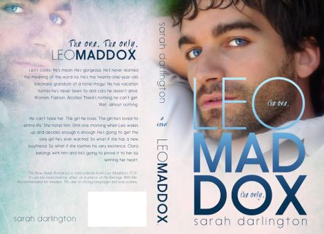 leo maddox the one the only full book cover sarah darlington