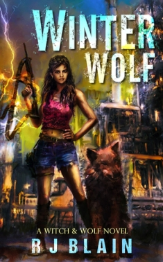 winter wolf rj blain book cover