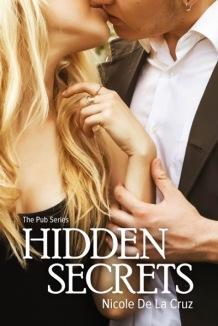 hidden secrets the pub series by author nicole de la cruz book cover