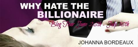 Why Hate The Billionaire book tour banner