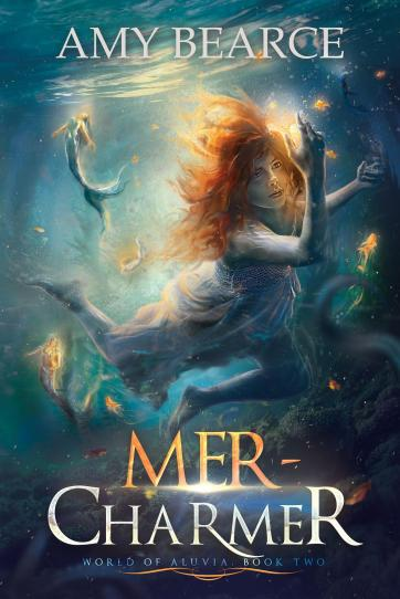 mer-charmer world of aluvia #2 by amy bearce book cover reveal