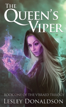The Queen's Viper Lesley Donaldson book one The V'Braed triolgy book cover