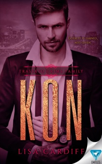 kon lisa cardiff trassato crime family #2 book cover