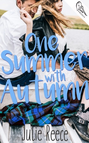 One Summer With Autumn by Julie Reece book cover