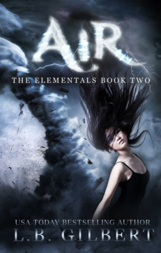 air elementals series #2 l.b. gilbert book cover