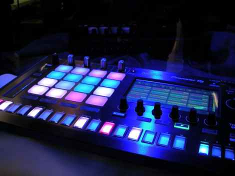 light-sound-board-stock-photo