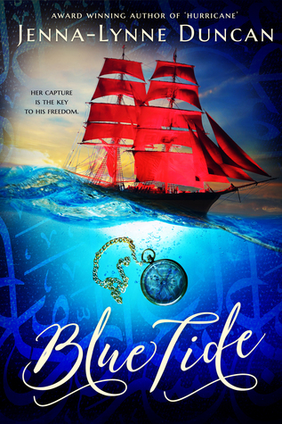 Blue Tide Jenna-Lynne Duncan book cover