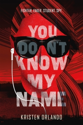 you don't know my name kristen orlando the black angel chronicles #1 book cover