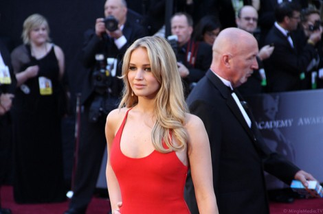 Jennifer Lawrence Oscars Red Carpet
