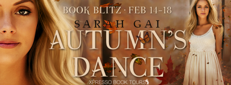 autumn's dance by sarah gai xpresso book tours banner