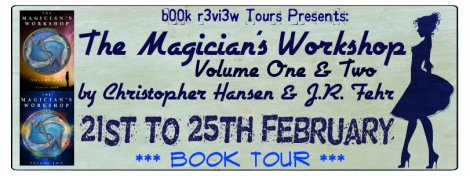 the magicians workshop volume 1 & 2 b00k r3vi3w tour banner