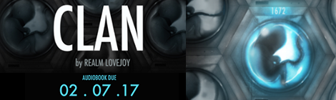 clan realm lovejoy audiobook rerelease book blitz xpresso book tours drunk on pop banner