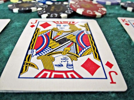 jack of diamonds poker chips stock photo flickr