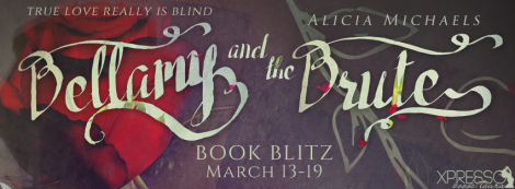 Bellamy and the Brute alicia michaels book blitz banner xpresso book tours
