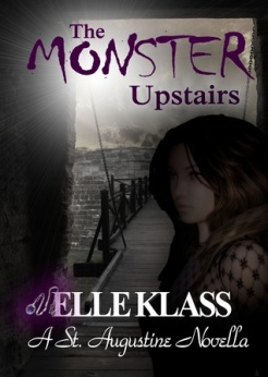 the monster upstairs bloodkeeper #2 elle klass book cover