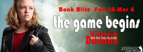 The Game Begins Victoria Danann book blitz banner xpresso book tours