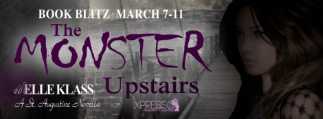 the monster upstairs bloodkeeper #2 elle klass book blitz xpresso book tours banner