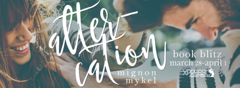 altercation mignon mykel playmaker #1 book blitz banner xpresso book tours