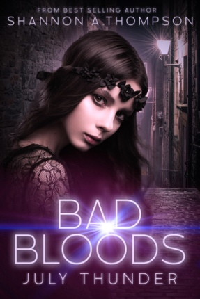 july thunder bad bloods shannon a thompson book cover