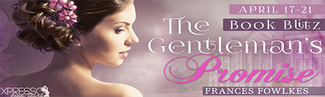 The Gentleman's Promise (Daughters of Amhurst, #3) by Frances Fowlkes book blitz banner xpresso book tours drunk on pop