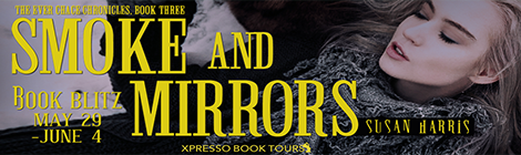 smoke and mirrors susan harris book blitz banner drunk on pop xpresso book tours.png