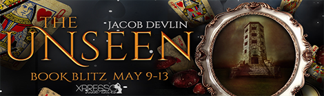 The Unseen by Jacob Devlin (Order of the Bell #2) book blitz banner xpresso book tours drunk on pop