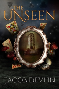 The Unseen  by Jacob Devlin  (Order of the Bell #2)  book cover