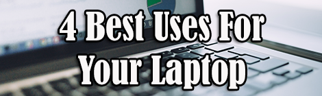 4 Best Uses For Your Laptop guest post banner drunk on pop