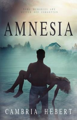 Amnesia Cambria Hebert book cover