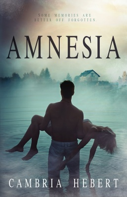 Amnesia Cambria Hebert book cover
