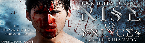 rise of princes janell rhiannon the homeric chronicles xpresso book tours drunk on pop book blitz banner