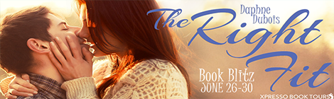 the right fit daphne dubois book blitz banner xpresso book tours drunk on pop