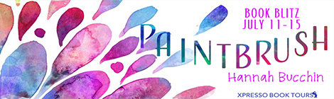 paintbrush hannah bucchin book blitz banner xpresso book tours drunk on pop