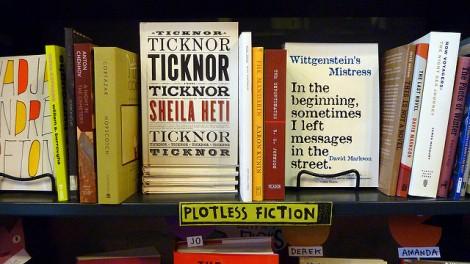 plotless fiction books bookstore stock photo flickr