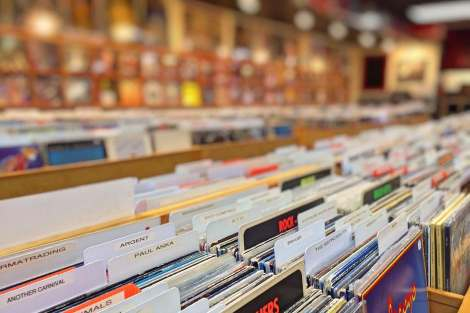 pexels stock photo vinyl records record store