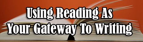 Using Reading As Your Gateway To Writing guest post banner drunk on pop